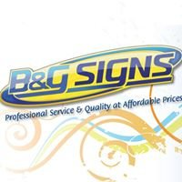 B & G Signs