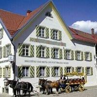 Bräustüble und Hotel der PostBrauerei Weiler