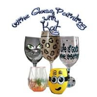 Wine Glass Painting with Kat