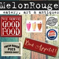 MelonRouge eatery art antiques