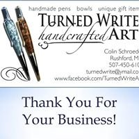 Turned Write Handcrafted Art