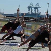 Yoga på Strandbaren