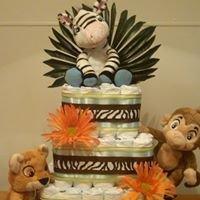 Diaper Cakes By Deedra