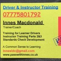 Innes Macdonald-Driver & Instructor Training