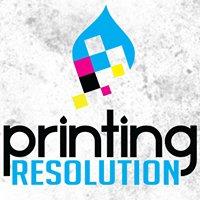 Printing Resolution