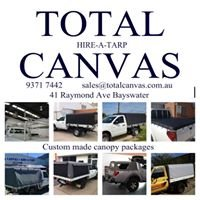 Total Canvas Hire A Tarp