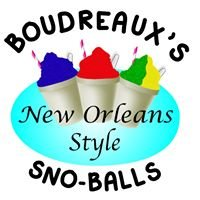 Boudreaux's New Orleans Style Sno-Balls