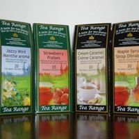 Tea Range   teas &  Stella organic Swiss chocolates