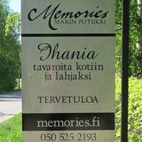 Memories Marin Putiikki