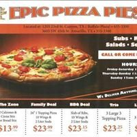 Epic Pizza Pies of Amarillo