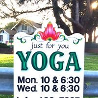 Just for You! Yoga with Caryn