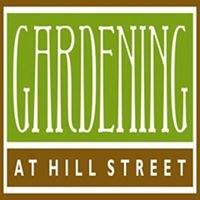 Gardening at Hill Street