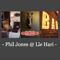 Phil Jones at Lle Hari