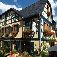 """Historisches Weinhotel des Riesling """" Zum grünen Kranz """" Rüdesheim"""