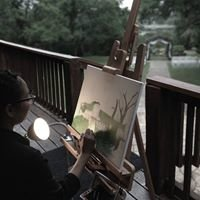 Tawny Lewis Art & Design: Live Wedding Painter