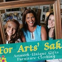 For ART'S SAKE A New and Recycled Boutique.