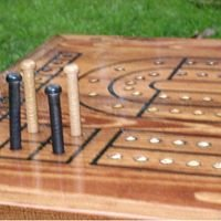 The Right Jack Cribbage Board Coffee Tables