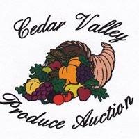 Cedar Valley Produce Auction Inc
