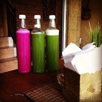 A.A healthy juice warung