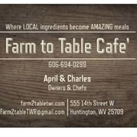 Farm to Table Cafe