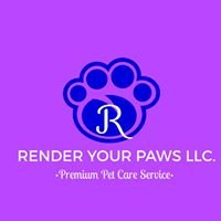 Render Your Paws LLC.  Pet Care - Dog Walking - Cat Sitter