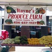Waynes Produce Farm