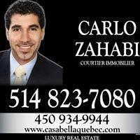 Carlo Zahabi - Real Estate Broker - Courtier Immobilier