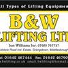 B&W Lifting Ltd
