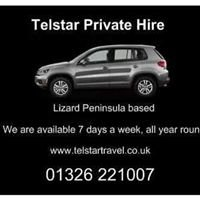 Telstar Taxi & Private Hire, Helford, Coverack & The Lizard 01326 221 007