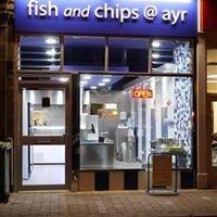 Fish and chips at Ayr