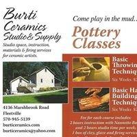 Burti Ceramics Studio & Supply