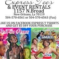 Express Tee's & Event Rentals