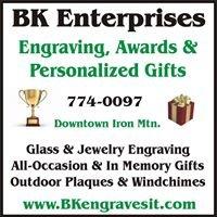 BK Enterprises - Engraving, Awards & Gifts