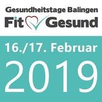 Gesundheitstage Balingen 16. und 17. Februar 2019