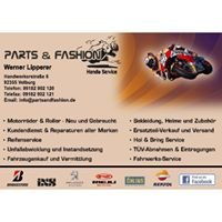 Parts & Fashion Motorcycles