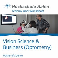 M.Sc. Vision Science and Business - Optometry