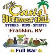 The Oasis Southwest Grill - Franklin, KY