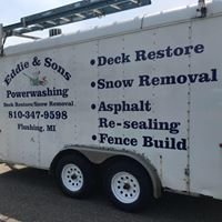 EDDIE & SONS Powerwashing/Fence build/deck stain/snow plow