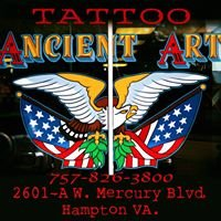 Ancient Art Tattoo of Hampton Virginia