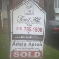 Adele Aston 'To Buy or Sell Call Adele' Forest Hill Real Estate