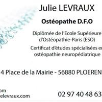 Cabinet d'Ostéopathie Julie Levraux
