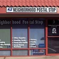 Neighborhood Postal Stop