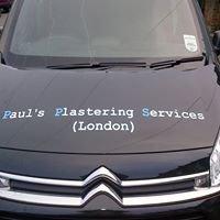 Paul's Plastering Services - London