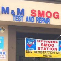 M & M Smog Test and Repair