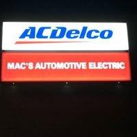 Mac's Auto Electric LLC