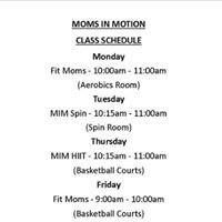 Moms in Motion at Delta Valley Athletic Club