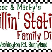 Amber and Marty's Fillin Station family diner