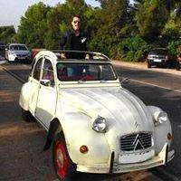 Alquiler coches 2cv para eventos