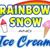 Rainbow Snow and Ice Cream