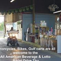 All American Beverage & Lotto Bikini Drive Thru Store